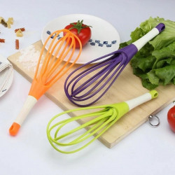 Rotating Silicone Whisk
