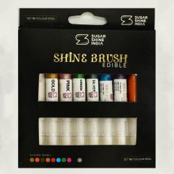 Shine Brush Edible Pens (Set of 10)
