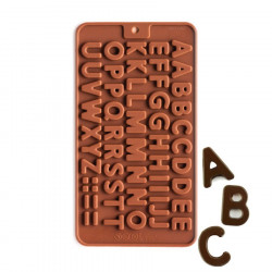 Alphabets Silicone Chocolate Mould