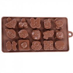 Beach Party Silicone Chocolate Mould
