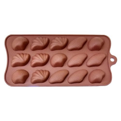 Mix Sea Shells Silicone Chocolate Mould