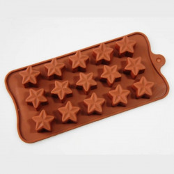 Star Shape (B) Silicone Chocolate Mould