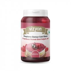 Vizyon Raspberry Glamour Cold Glaze - 125 Gm
